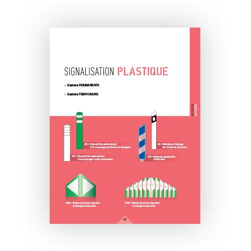 Signalisation plastique Isosign