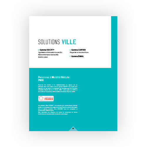 Solutions ville Isosign