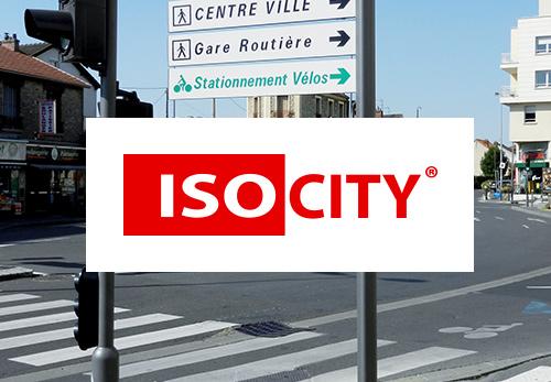 Signalétique et mobilier urbain Isosign Saint-Eusèbe